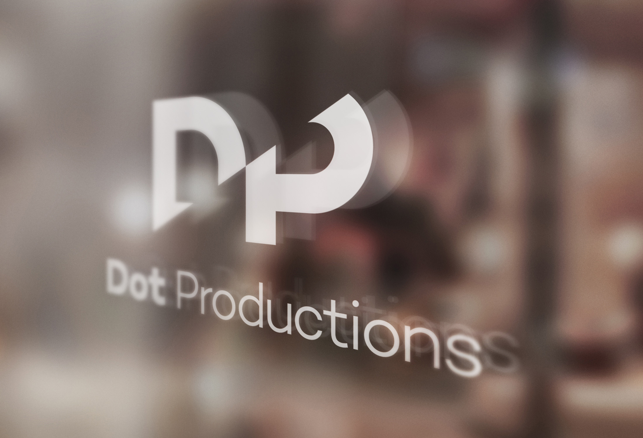 Dot Productions Window Logo Design by tuhomuho