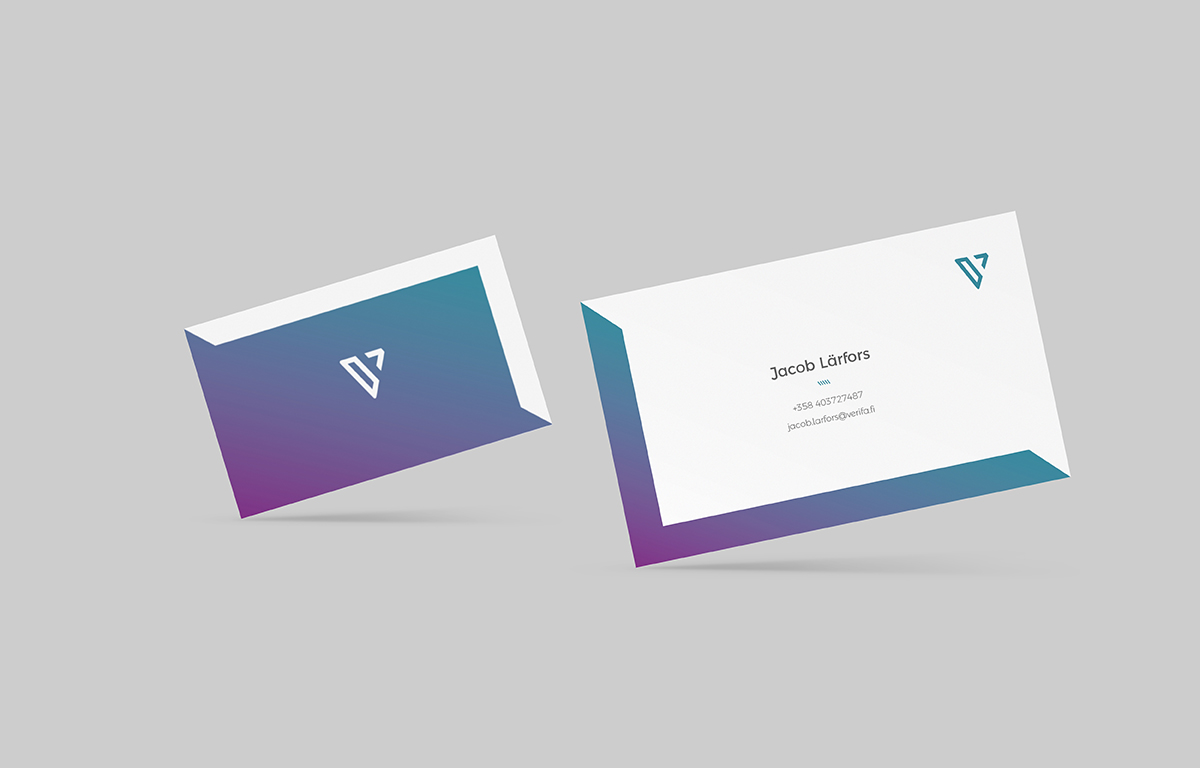 Verifa Business Cards Design by tuhomuho
