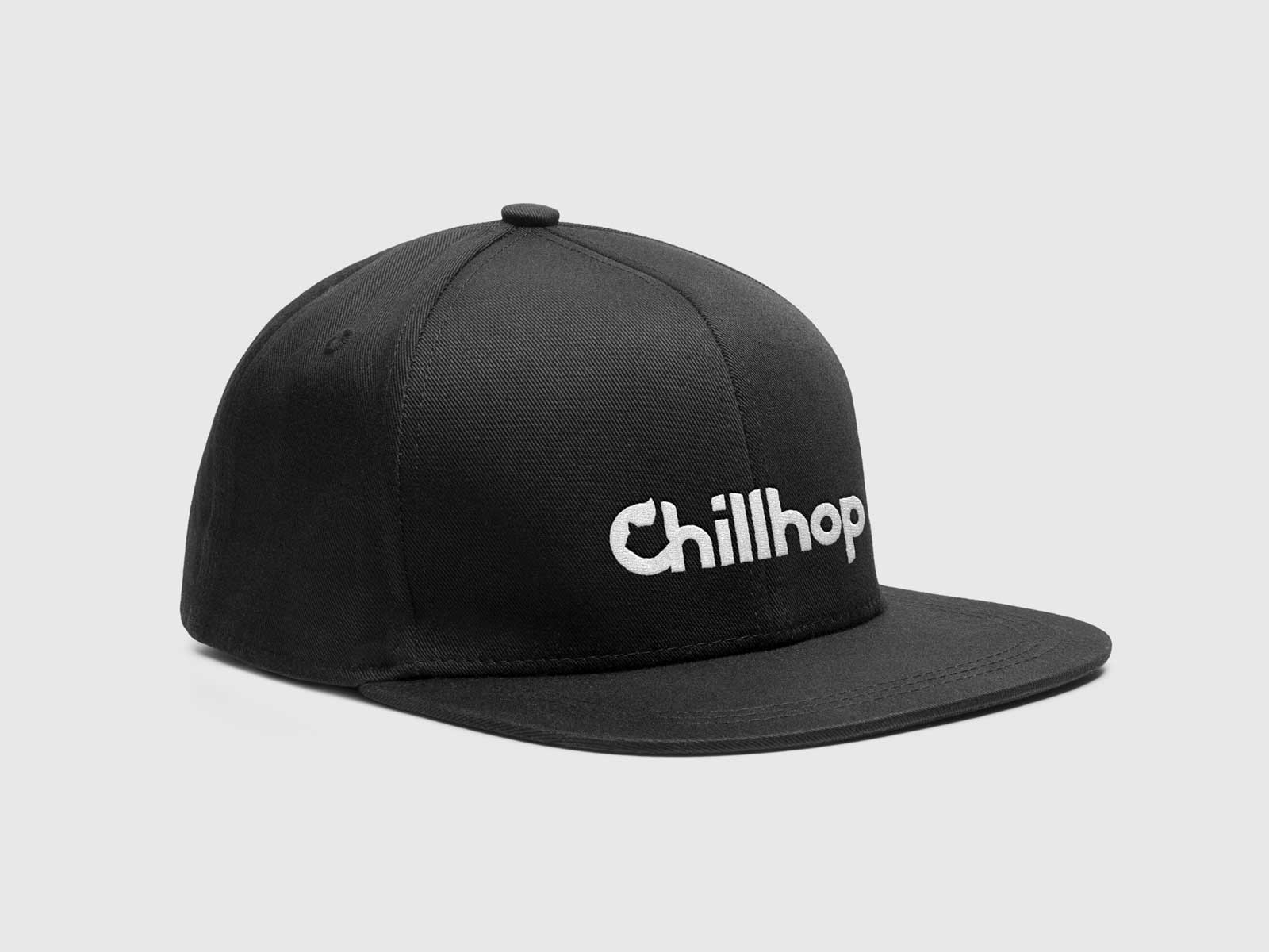 Chillhop Music new raccoon logo snapback branding