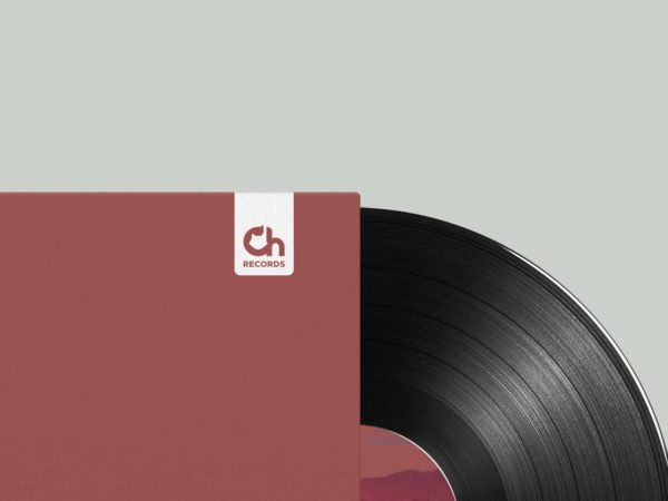 Chillhop Records new logo vinyl record packaging branding