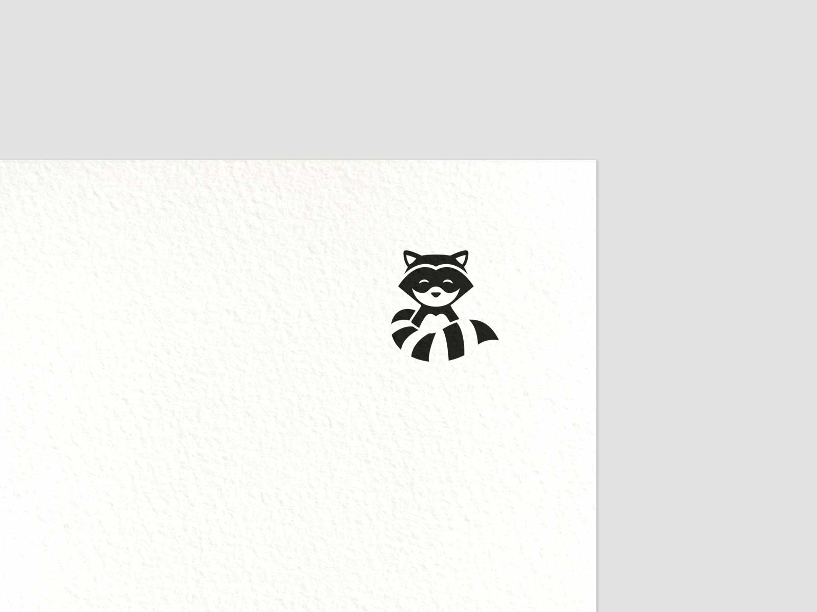 Chillhop mascot raccoon character new logo branding
