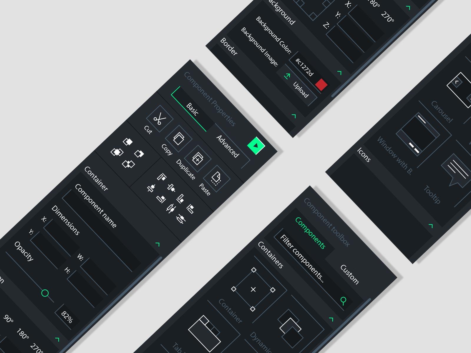 ux app ui prototype mockup tool design