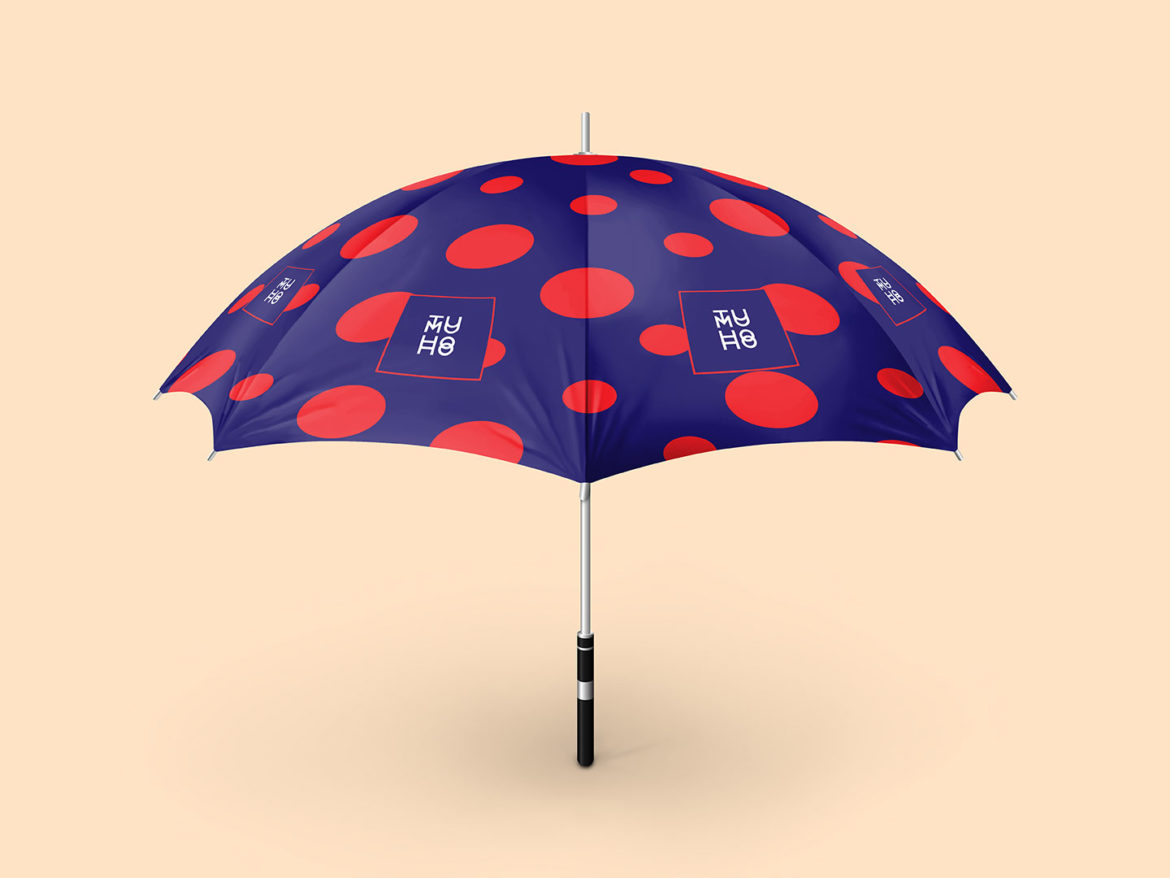 Free High-Quality Umbrella Design Mock-Up