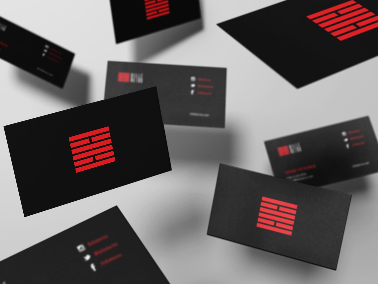 Billebeino business cards branding logo design