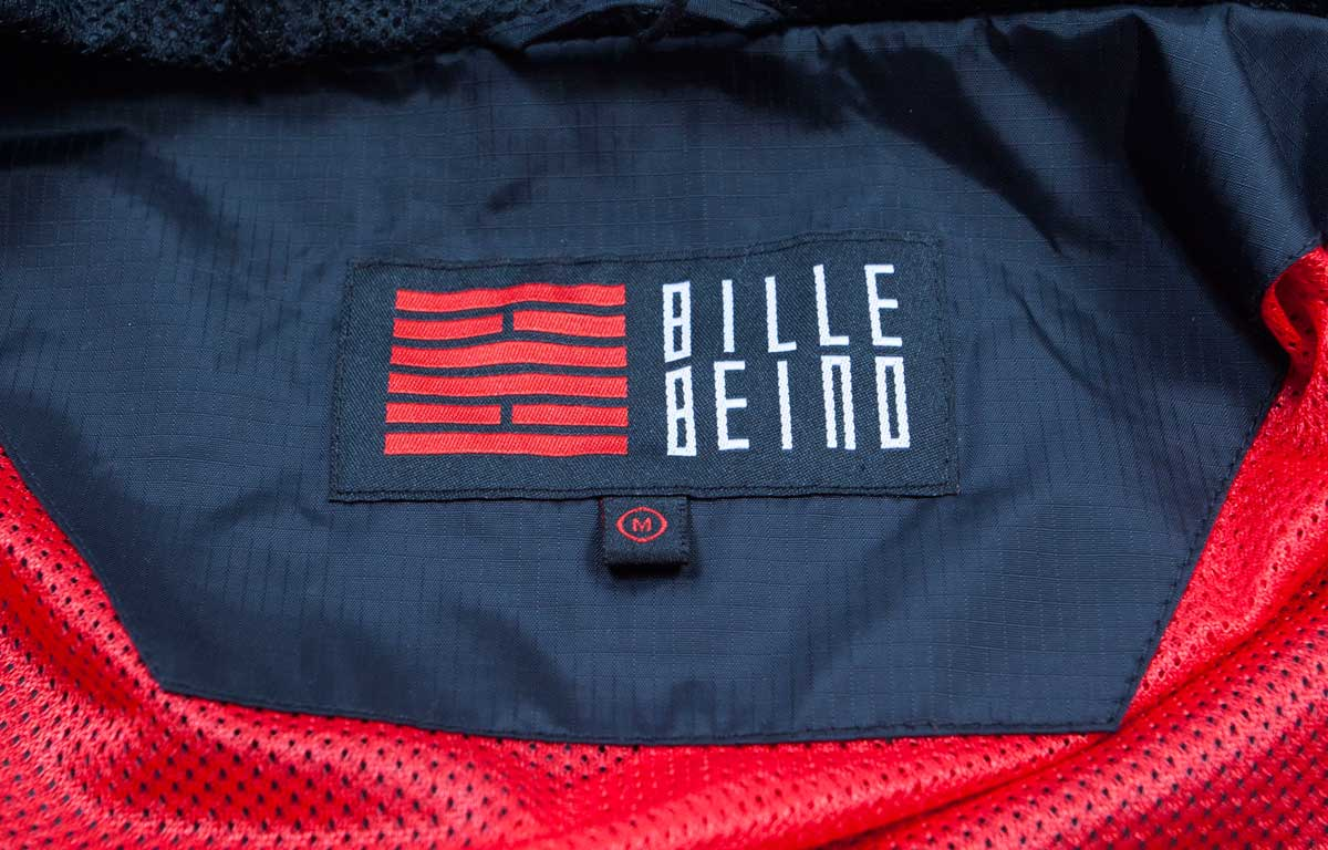 billebeino windbreaker sports jacket logo