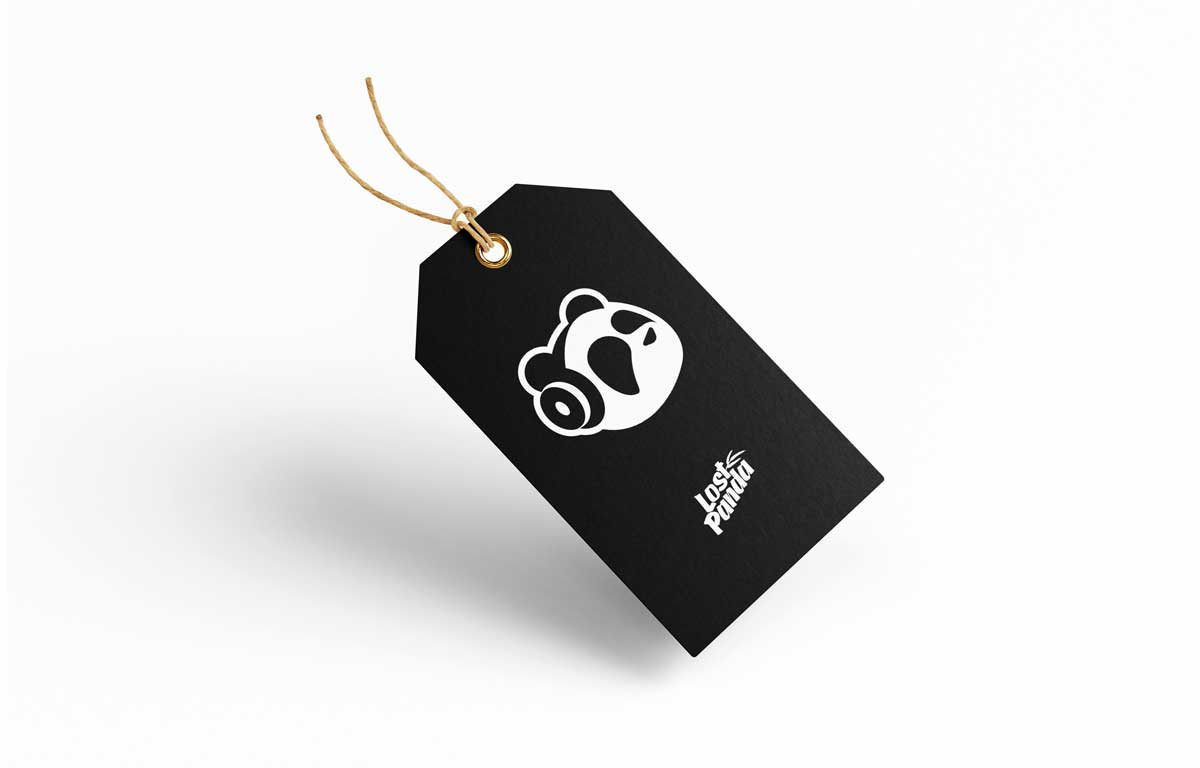 Lost Panda Music label tag